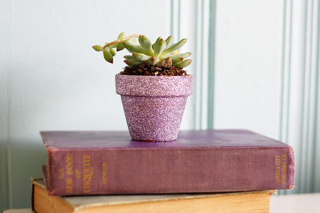 DIY vasos de barro decoração