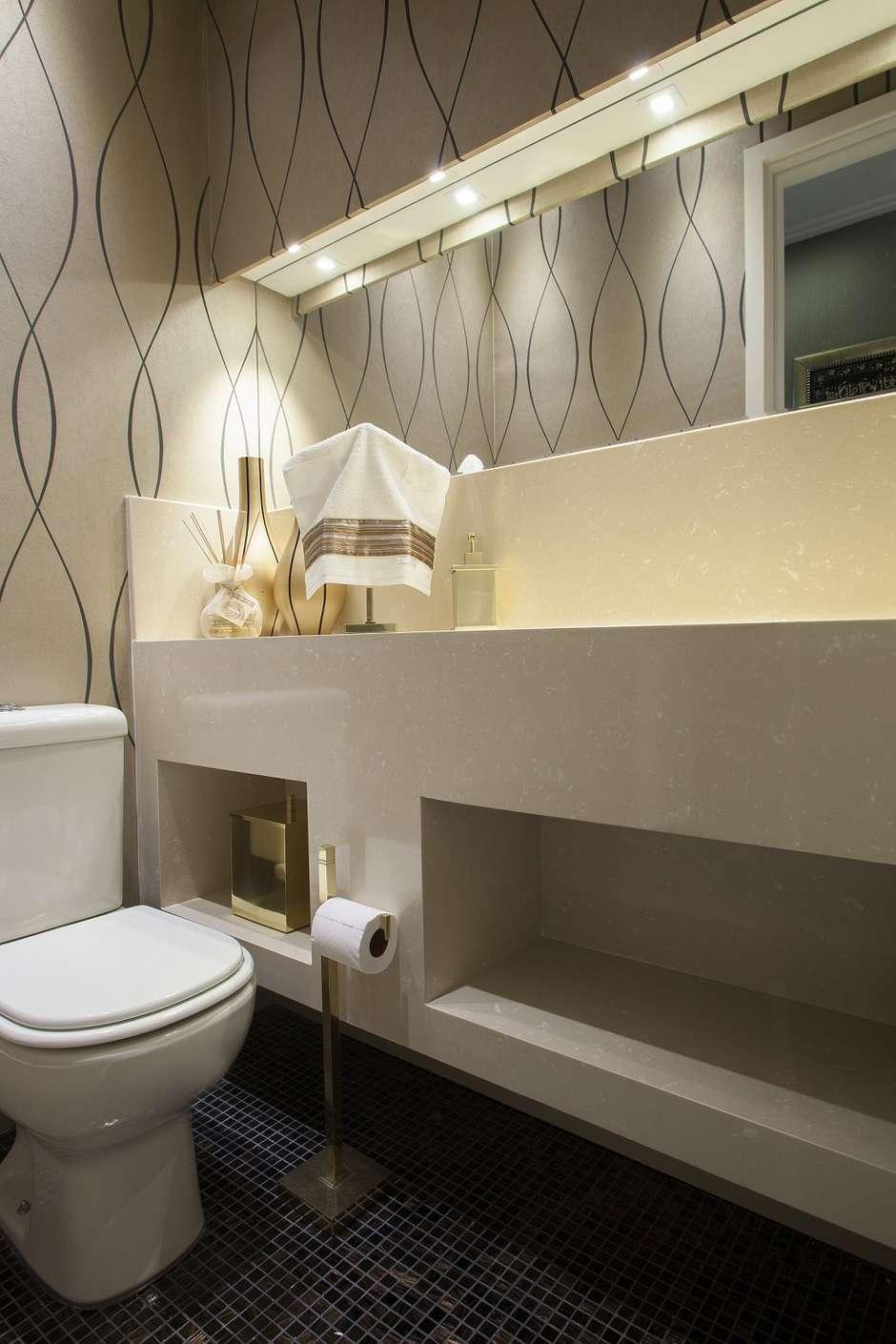 Como decorar seu lavabo pequeno studio 1202 for Lavabos para restaurantes