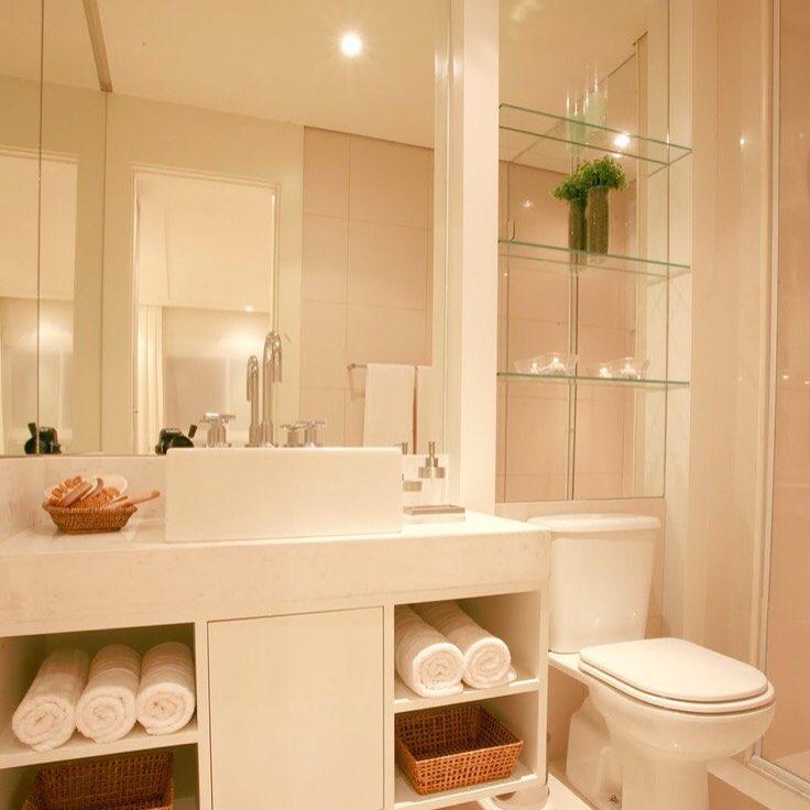 Como decorar seu lavabo pequeno studio 1202 for Armarios para lavabos