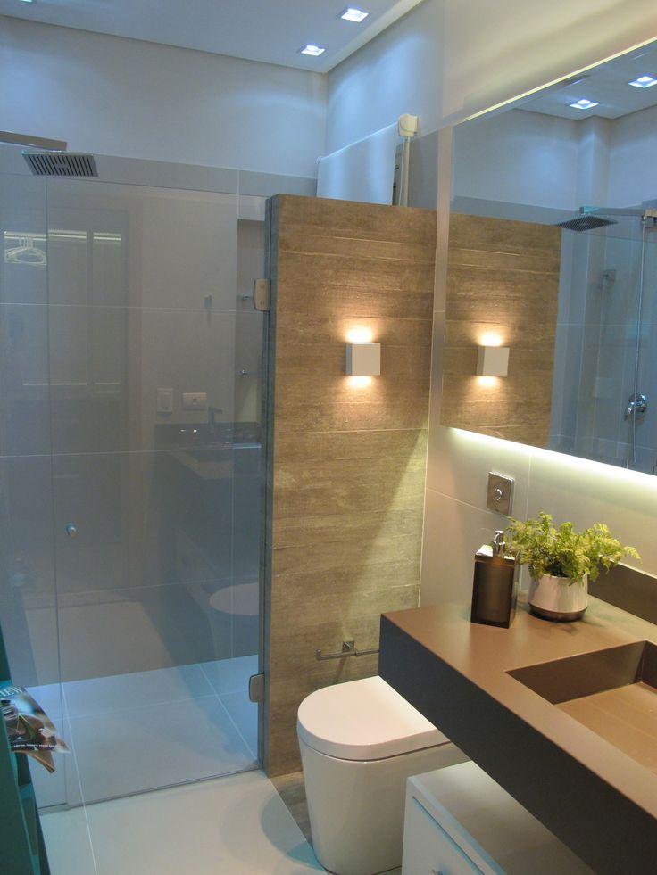 Favoritos Banheiros Modernos Pequenos. Pastilhas Coloridas Para Banheiros  ZR17