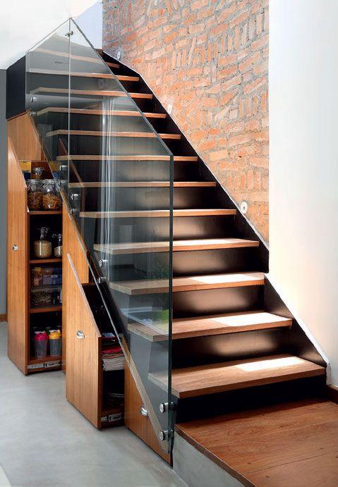 decoração sala com escada (11)