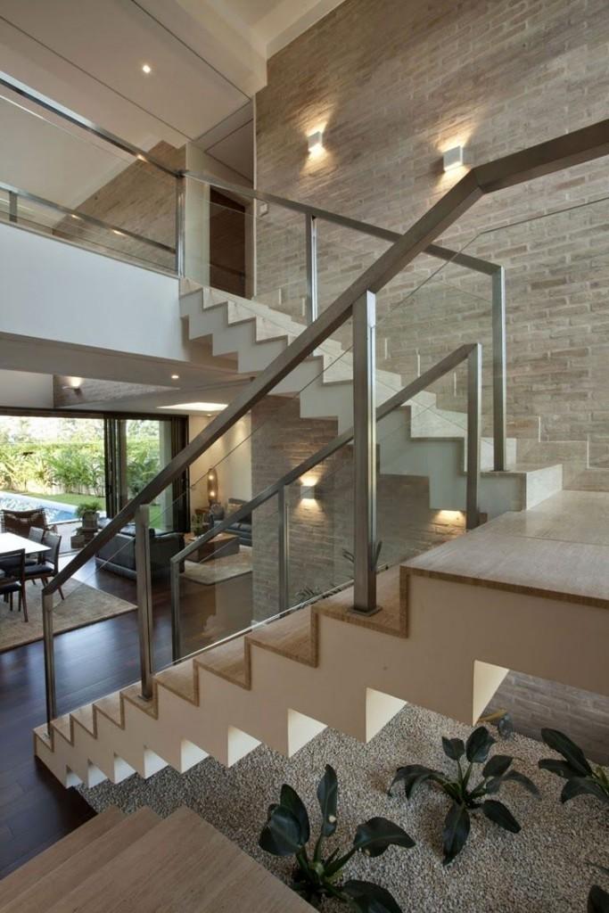 decoração sala com escada (12)