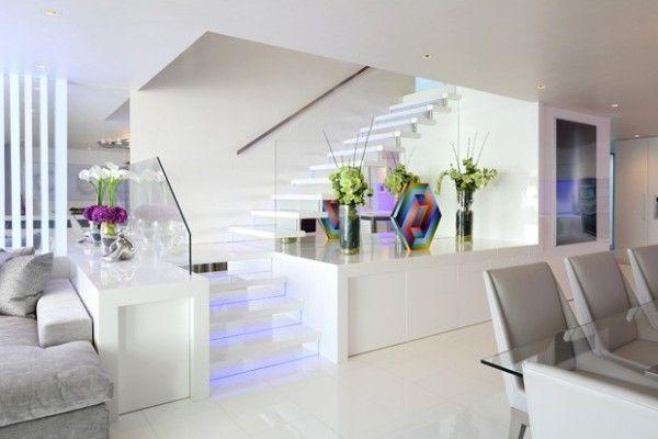 Decore sua sala com escada de forma f cil com essas super - Decorar duplex pequeno ...