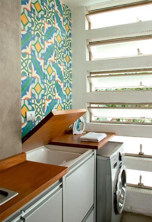 Como montar uma lavanderia pequena no seu apartamento for Apartaestudios pequenos