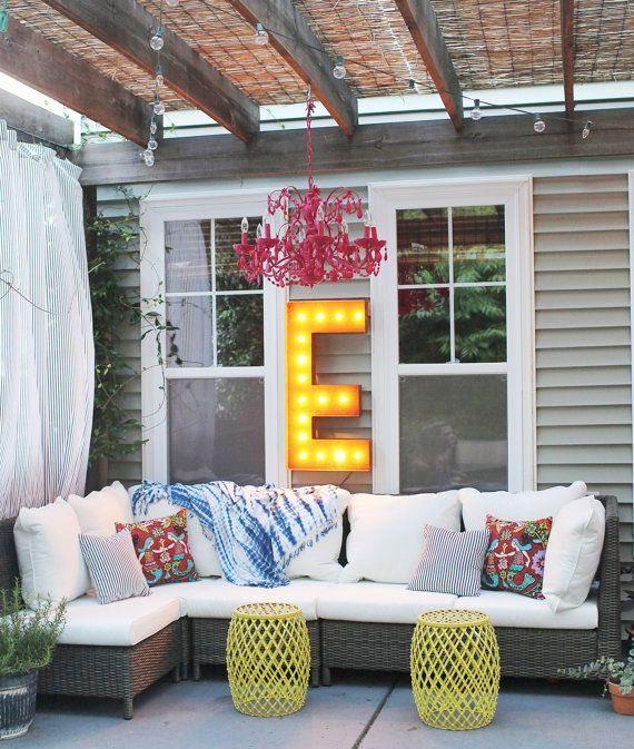Dicas para decorar o quintal da sua casa for Decorar porche pequeno