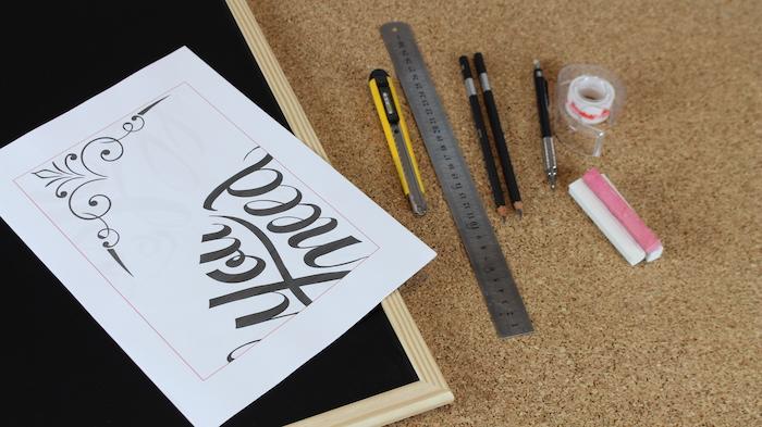 DIY tutorial lettering desenho lousa (50)