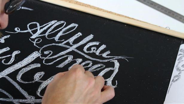 DIY tutorial lettering desenho lousa (53)