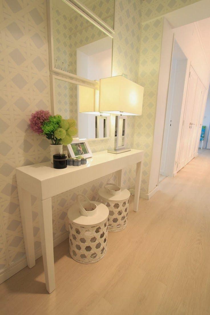 Dicas Para Decorar O Hall De Entrada Da Sua Casa ~ Decoração De Quarto Casal Pequeno Com Espelho