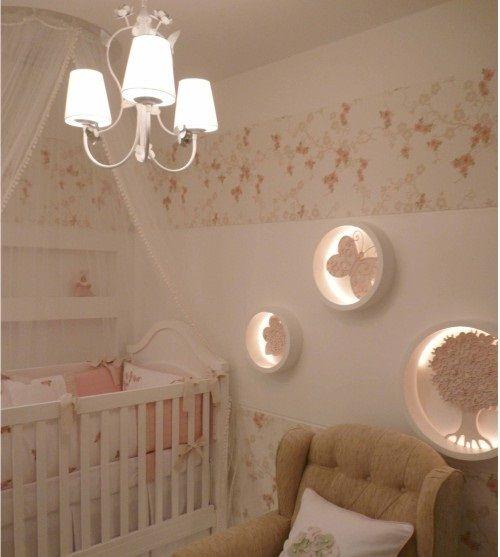 Segredos para decorar o quarto de bebê da sua menina