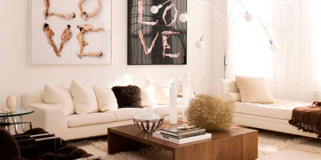 Ideias e dicas para decorar atr s do sof aprenda todos - Decorar pared sofa ...