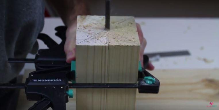 DIY luminária de mesa wood (12)