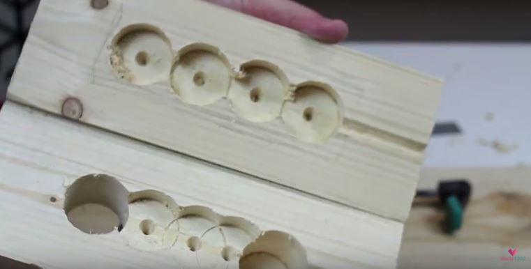 DIY luminária de mesa wood (13)