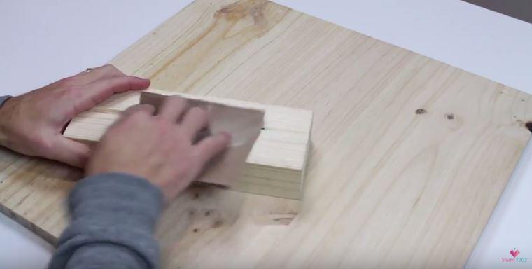 DIY luminária de mesa wood (14)