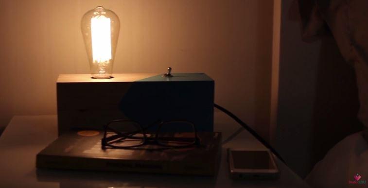 DIY luminária de mesa wood (4)