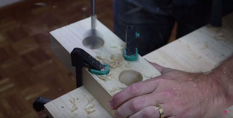 DIY luminária de mesa wood (7)