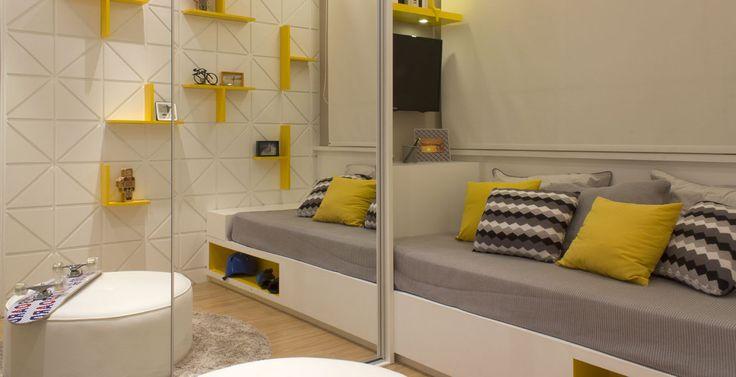 Decore o quarto dos seus filhos com os Minions ~ Quarto Amarelo Jovem