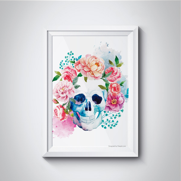 poster-gravuras-download-gratis-skull