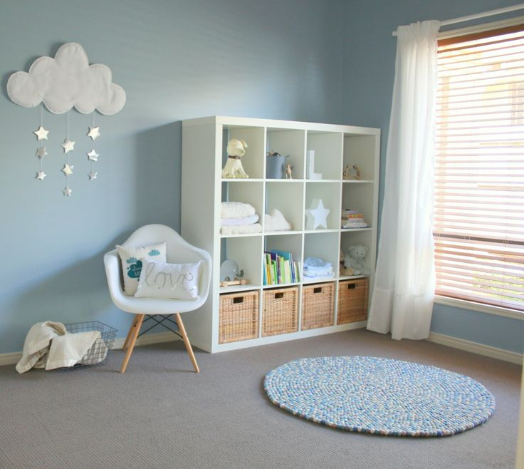 Como montar e decorar o quarto de beb menino for Decoration chambre de bebe unisex