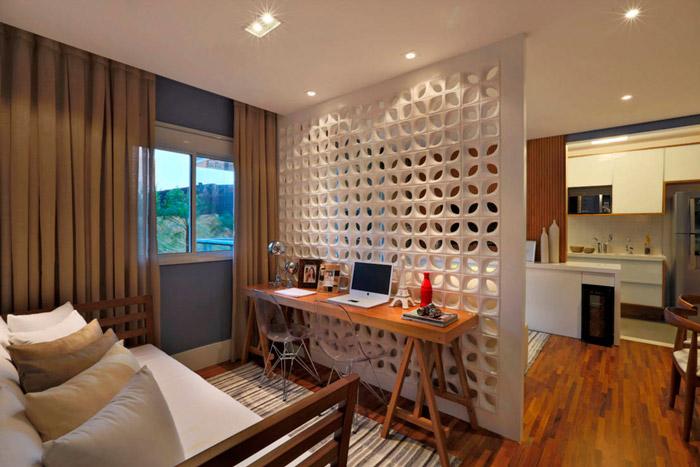 Aprenda a usar o cobog na decora o da casa brasileira for Paredes separadoras