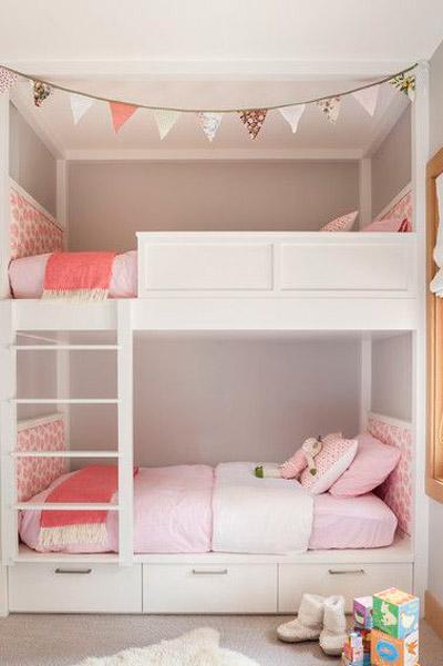 Como organizar e montar um quarto para muitos filhos ~ Quarto Pequeno Para Um Casal De Filhos