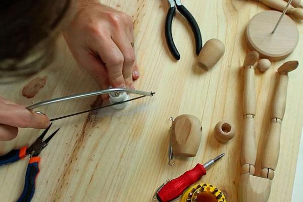 DIY tutorial luminária boneco manequim (6)