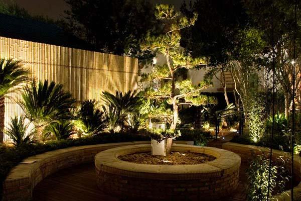 jardim iluminado 3