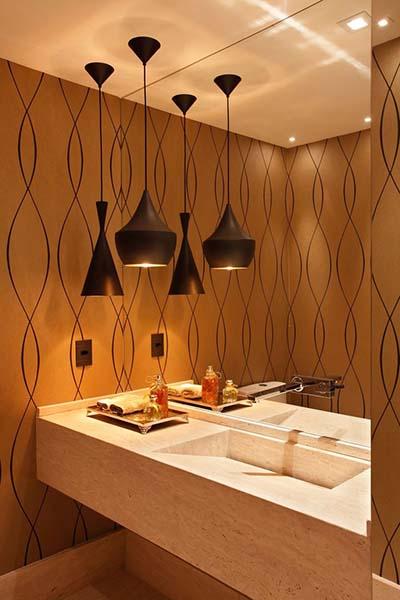tipos de luminárias de decoração