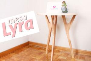 DIY mesa de apoio Lyra