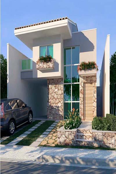 3 dicas de como decorar a frente de casa for Frentes de casas minimalistas