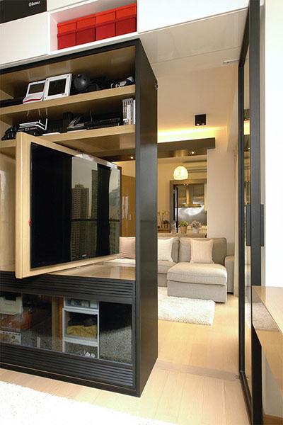 uma TV para dois ambientes 2