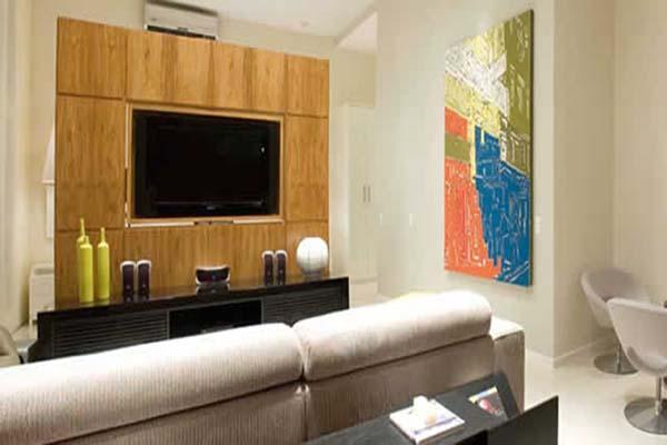 Sala Com Tv Giratoria ~  ajudar a decorar sua sala pequena Veja mais  Salas Com Tv Giratori