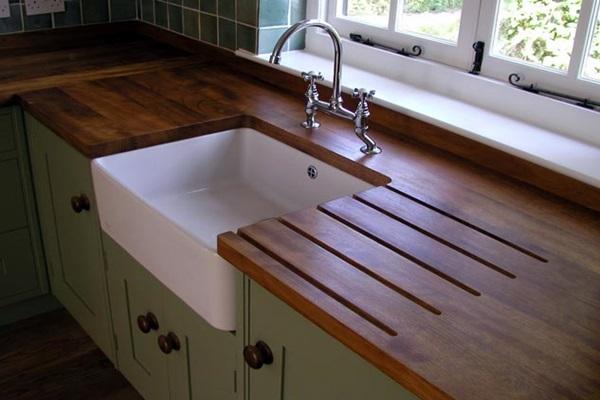 pia de cozinha em madeira 4