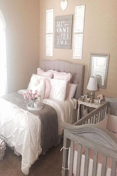quarto de casal com bebê no quarto dos pais compartilhar o quarto com o bebê-1