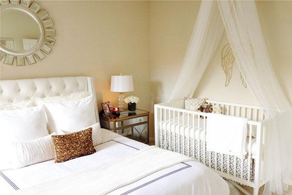 quarto de casal com bebê no quarto dos pais compartilhar o quarto com o bebê2