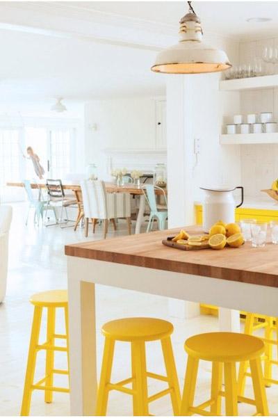Decorar Cozinha amarela (11)