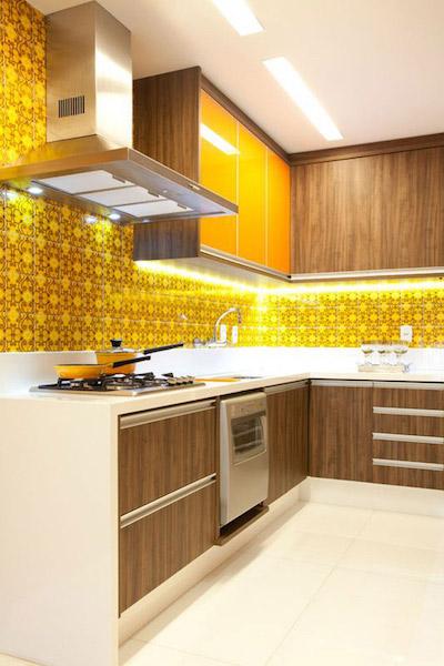 Decorar Cozinha amarela (12)