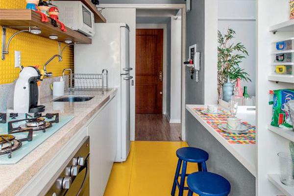 Decorar Cozinha amarela (6)