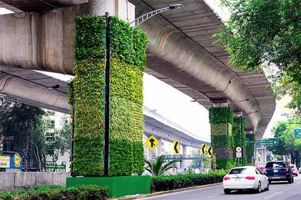 colunas de viadutos do méxico jardins-verticais-3