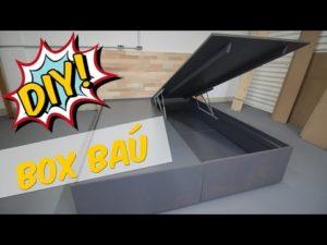 Como fazer uma cama box baú estofada