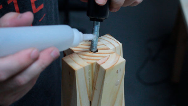 como fazer uma luminária de piso barata