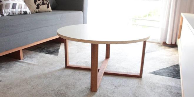 DIY – Como fazer uma mesa de centro barata, linda e fácil