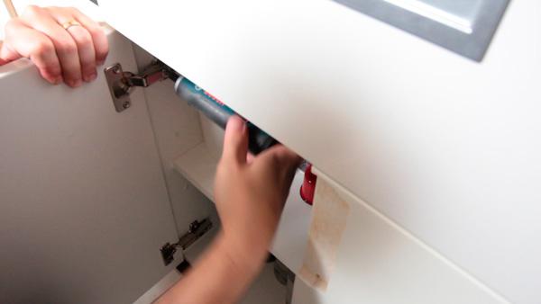 Como reformar os armários da cozinha pintar armários (2)