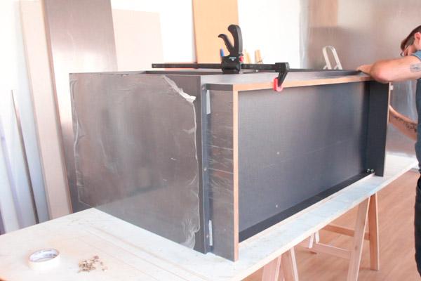 Como fazer gabinete de pia de cozinha