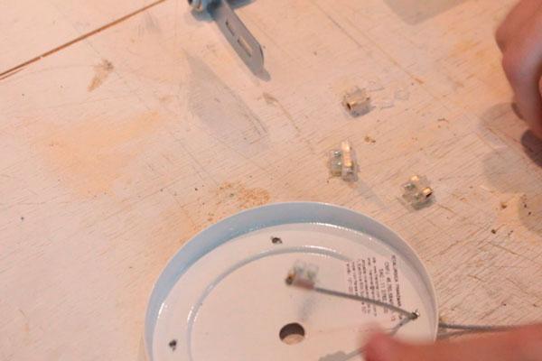 Como fazer um pendente de mesa teka