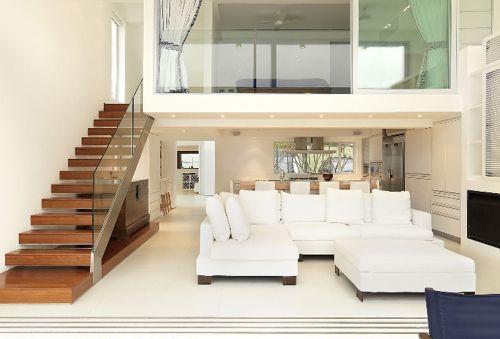Electrical Home Design Ideas: Decore Sua Sala Com Escada De Forma Fácil Com Essas Super