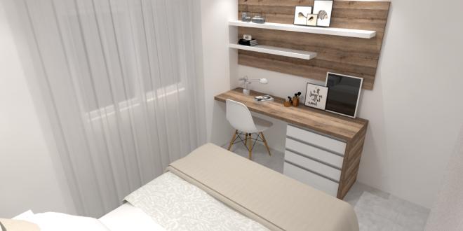 Projetar um quarto de casal