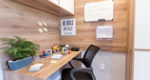 como fazer uma mesa de escritório